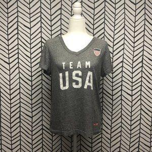 Team USA Olympics Pyeongchange V-Neck Tee